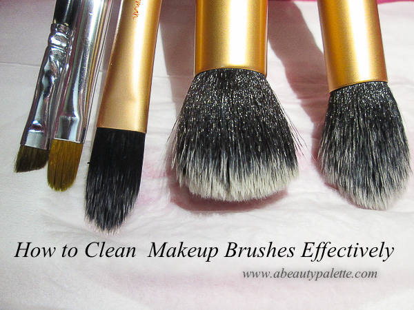 How to Clean Your Makeup Brushes Effectively