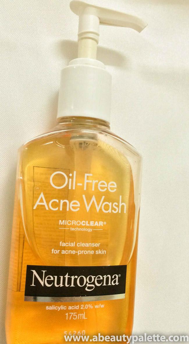Neutrogena Oil-Free Acne Wash Review 1