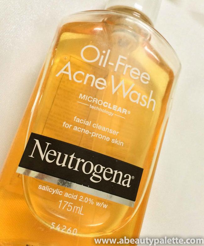 Neutrogena Oil-Free Acne Wash Review2