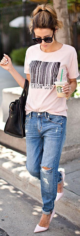 How to style Tshirts for girls