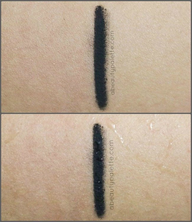 Colorbar Just Smoky Kajal Swatch