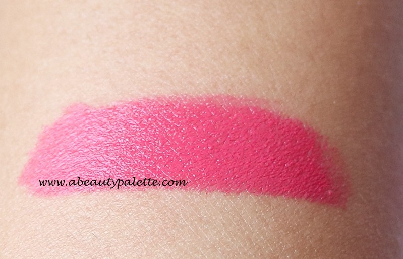 MAC Amplified Creme Lipstick Impassioned Swatch