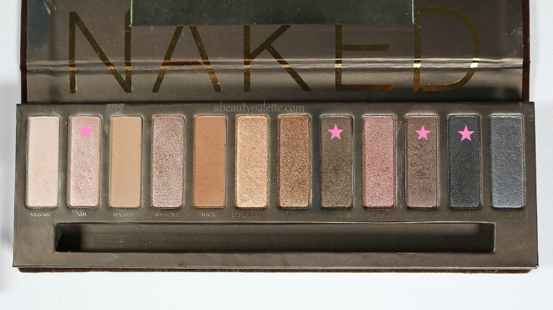 Urban Decay Naked Palette Makeup