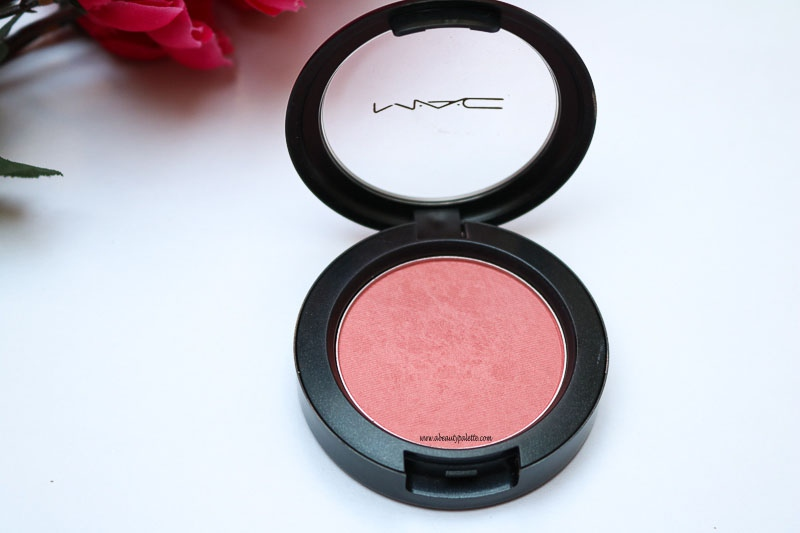 MAC Satin Blush Fleur Power