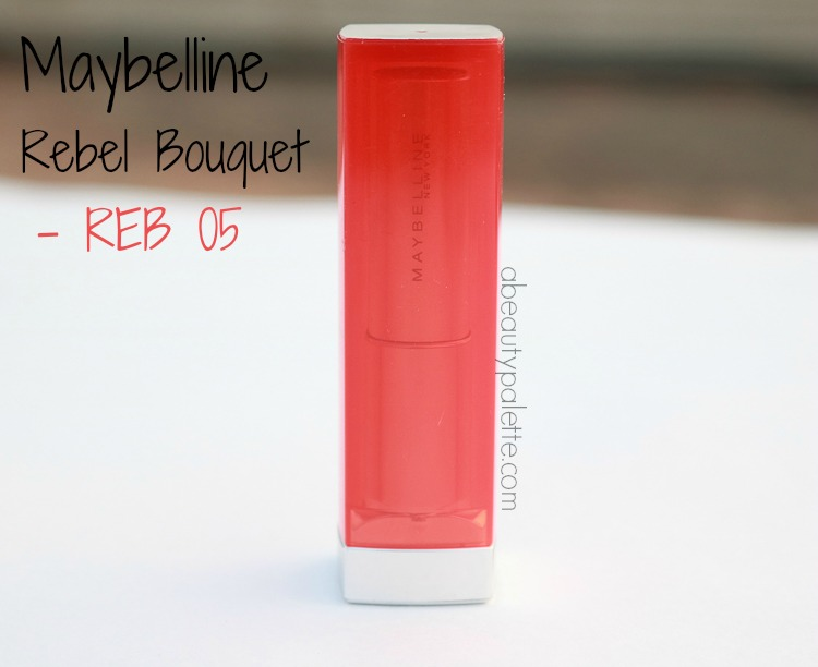 maybelline rebel bouquet lipstick
