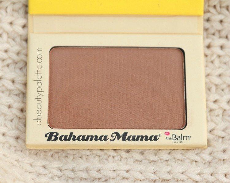 theBalm Bahama Mama Bronzer Swatch