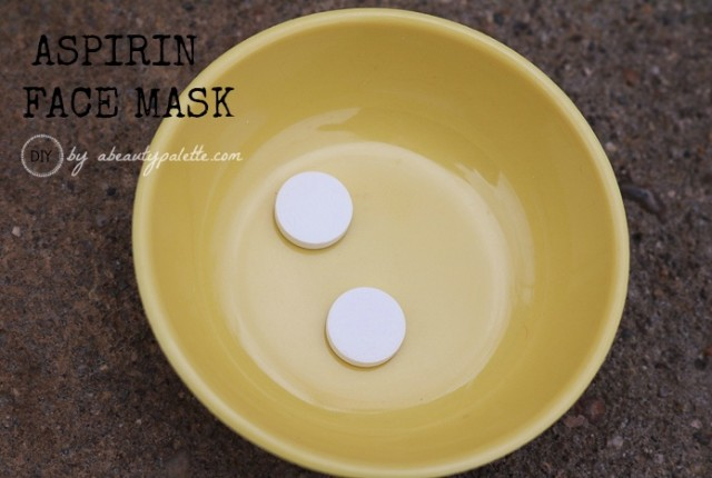 Aspirin Face Mask For Acne-Prone Skin