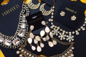 Forever 21 jewellery