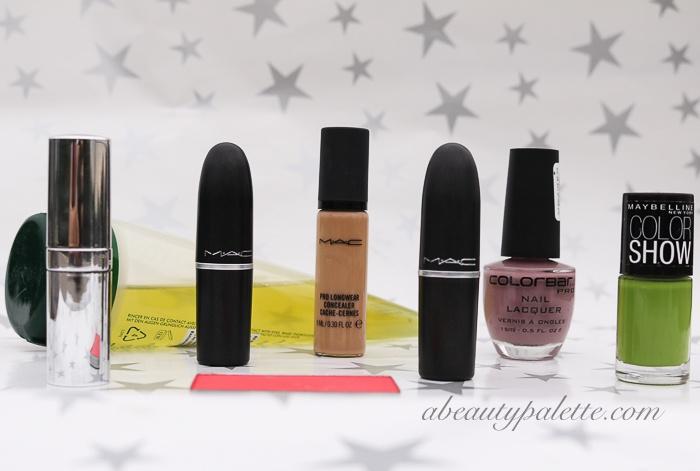 makeup shopping haul india 2015