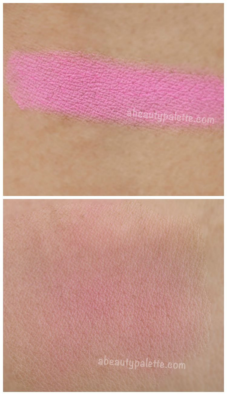 Sleek Powder Blush- Pixie Pink Swatch
