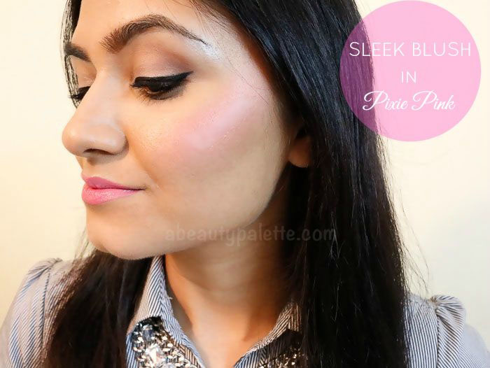 Sleek Powder Blush- Pixie Pink: Review