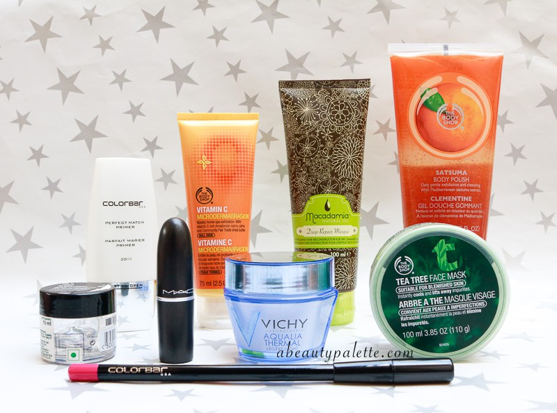 September Shopping Haul: The Body Shop, Colorbar, Vichy, Macademia, MAC