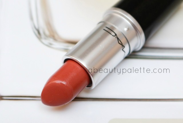 MAC Satin Lipstick Mocha Review