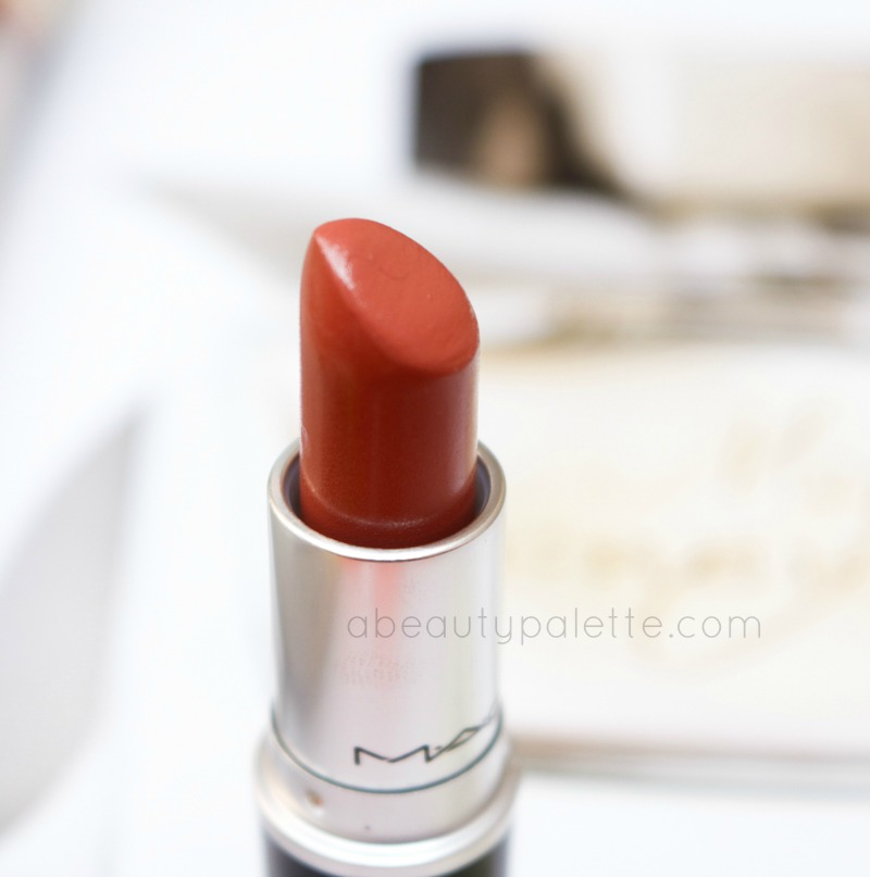 MAC Lipstick Mocha Review