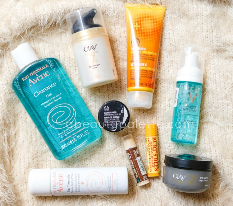 My Current Favourite Skincare Products nov 2015