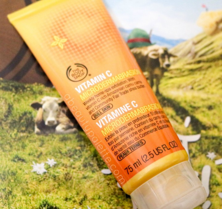 The Body Shop Vitamin C Microdermabrasion