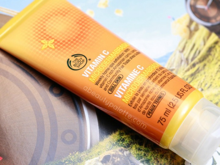 The Body Shop Vitamin C Microdermabrasion Review
