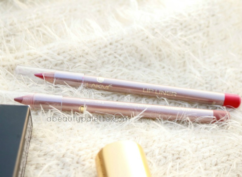 January Shopping Haul Lakme 9 to 5 Lipliner Brick Rose