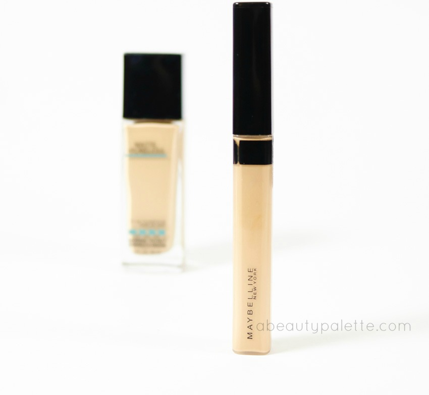 Maybelline Fit Me Concealer review 1w