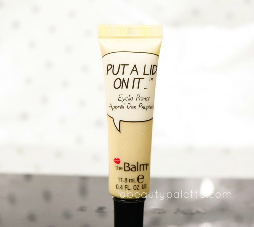 theBalm Put A Lid On It Eye Primer 1-2