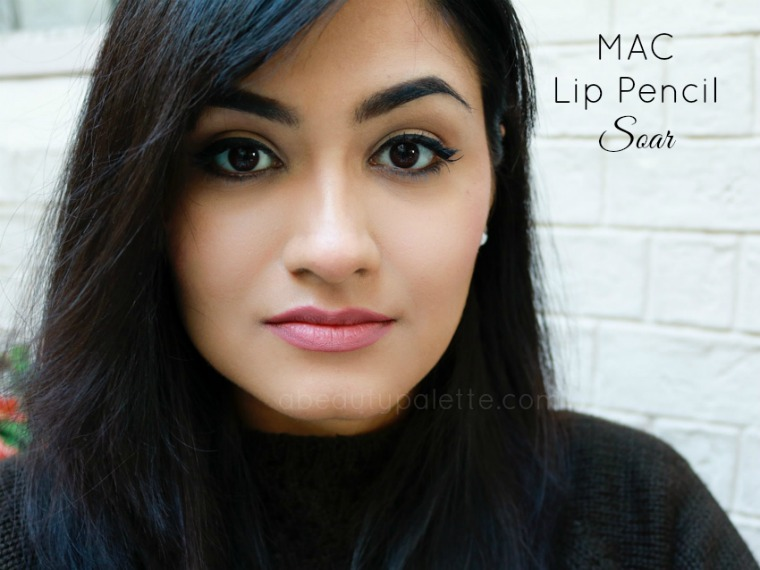 Extrêmement MAC Lip Pencil- Soar: Review, Price In India, Swatches | A Beauty  VN01