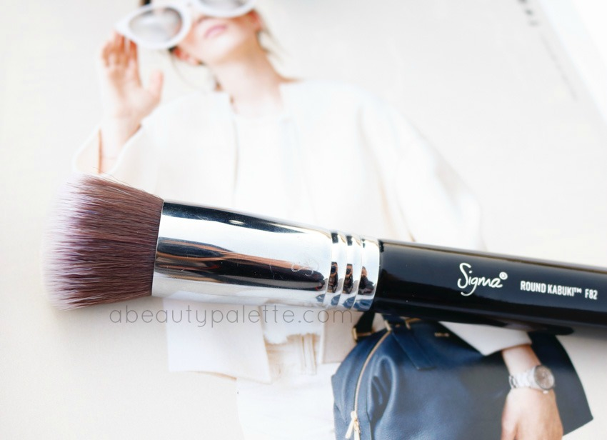 Sigma F82 Round Kabuki Brush Review