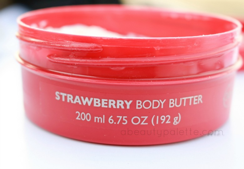 The Body Shop Strawberry Body Butter Review, Price In India