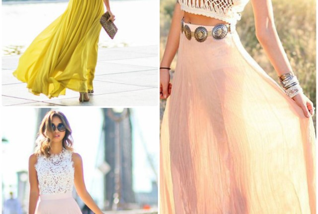 15 Ways To Style A Maxi Skirt