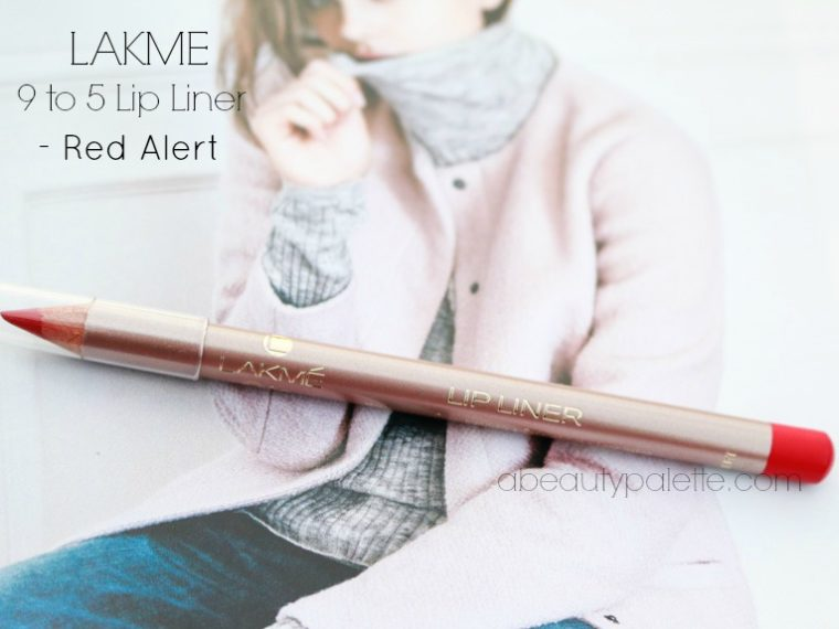 Lakme 9 to 5 Lip Liner Red Alert