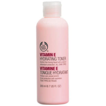 toners for dry skin-The Body Shop Vitamin E Hydrating Toner