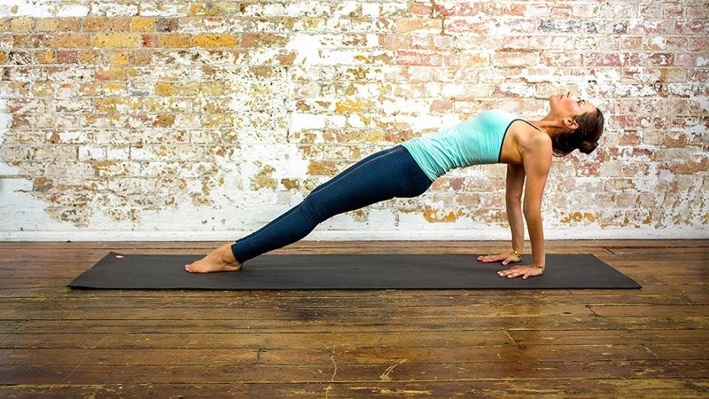 4. upward plank pose