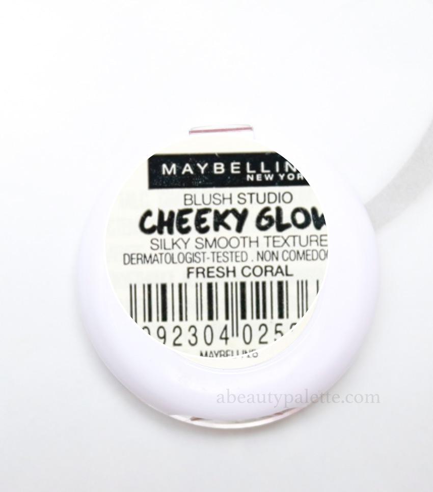Maybelline Blush Fresh Coral 4