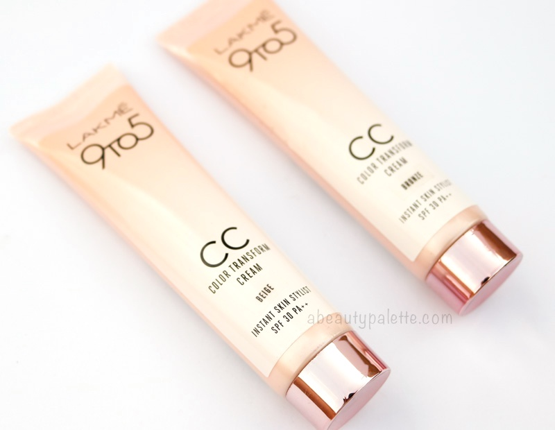 Lakme CC Color Transform Cream Review