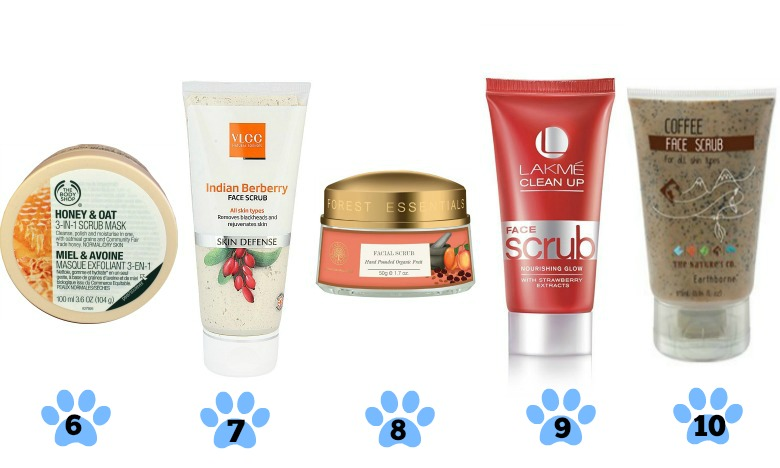 Best Face Scrubs For Dry Skin In India