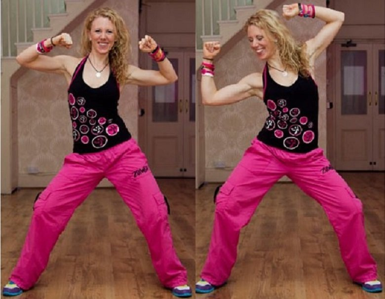 5 Awesome zumba fitness moves