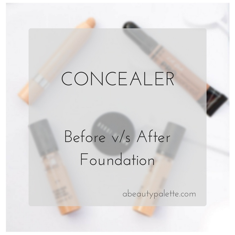 How To Use Concealer: Before or After Foundation?
