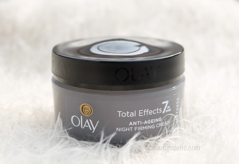 Olay 7 in 1 Anti-Ageing Night Moisturizer Review 1