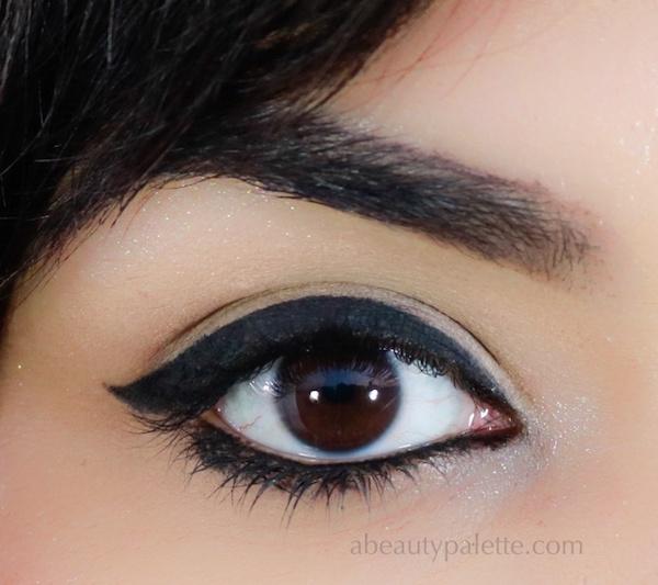 Plum All Day Wear Kohl Kajal Eye Swatch