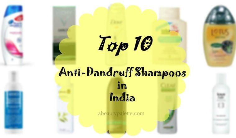 best anti dandruff shampoo in india