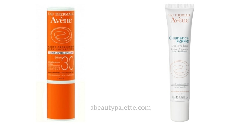 best avene products for oily skin