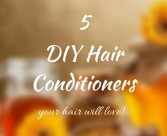 DIY hair conditioners