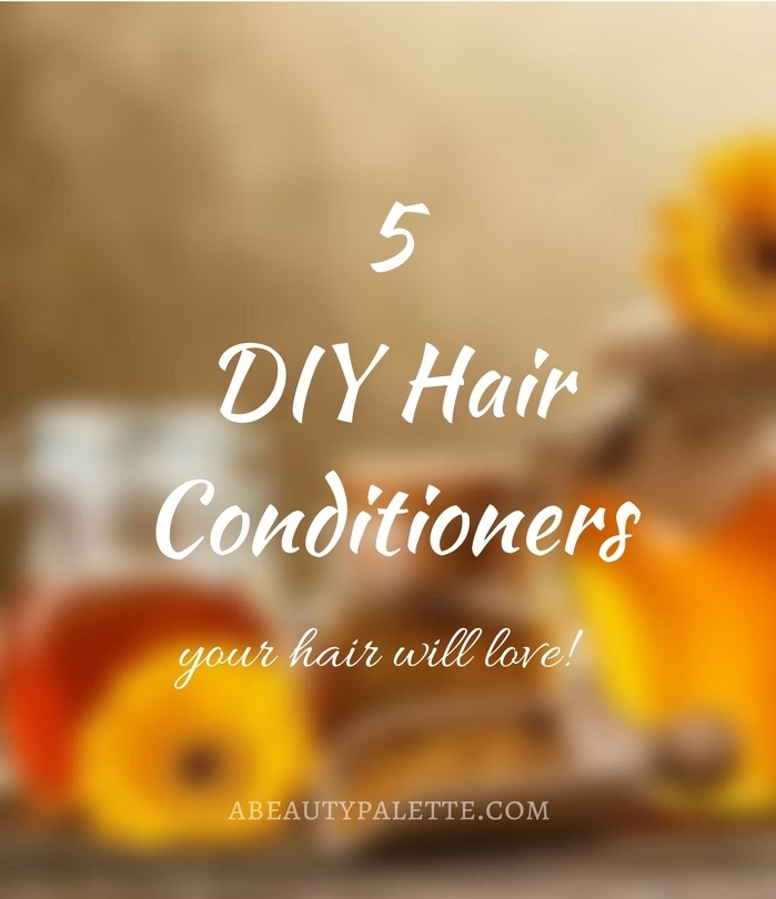 DIY hair conditioners