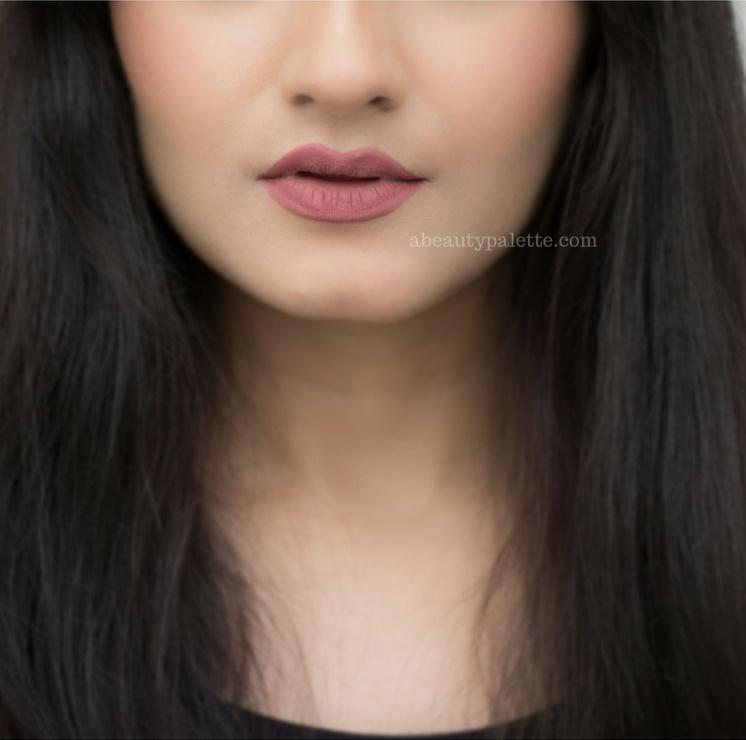 lip swatch beyu color biggie